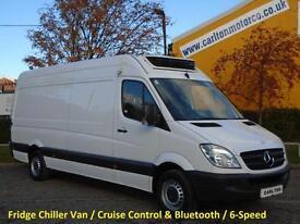 2013/ 63 Mercedes Sprinter 313Cdi LWB Hi Roof [ Refrigeration-Freezer+Chiller ]