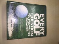 Every golf question you ever wanted to know , tip guide Book