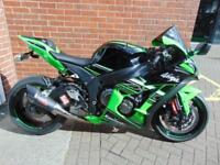 2017 (17) KAWASAKI NINJA ZX-10 R - SAM WEST RACE TUNED DECAT R11 CAN