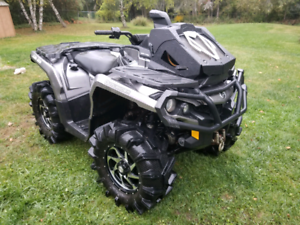 2012 Can Am Outlander 1000xt sell/trade