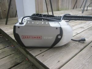 SEARS CRAFTSMAN GARAGE DOOR OPENER