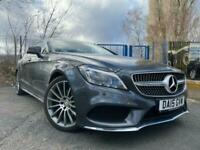 2015 15 MERCEDES-BENZ CLS CLASS 2.1 CLS220 BLUETEC AMG LINE PREMIUM PLUS 5D GREY