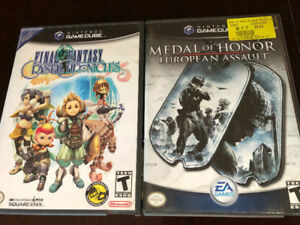 Two Gamecube Games, including Final Fantasy
