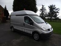 2011 61 RENAULT TRAFIC LH29 115DCi VAUXHALL VIVARO LWB HIGH-ROOF WORKSHOP VAN