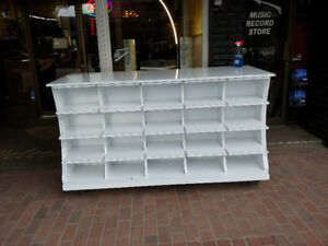 40 Cubicle Display Rack Perfect For Store Merchandising.