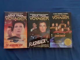 FOR SALE Star Trek Voyager novels