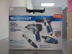 Mastercraft 71 Piece air tool kit.