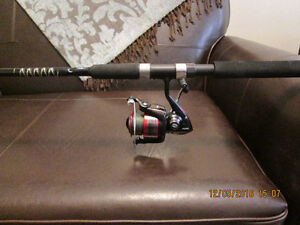 Spinning rod and reel combos new