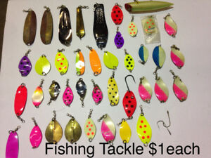 Fishing Tackle - Fishing Lures $1 each