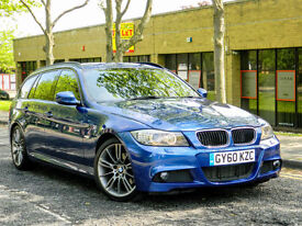 2010 60 BMW 3 SERIES 2.0 320d M Sport Plus Touring 5dr WITH FSH+MEGA SPEC!++