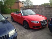 Audi A4 sline tdi convertible final edition