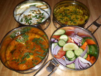 Fresh Homemade Indian food Tiffin service