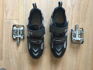Mec SPD pedals with shoes