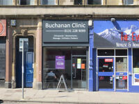 Edinburgh Sports Massage, Swedish and Deep Tissue Massage at Buchanan Clinic