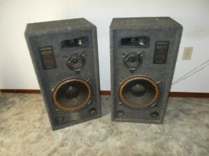 stand-up box speakers