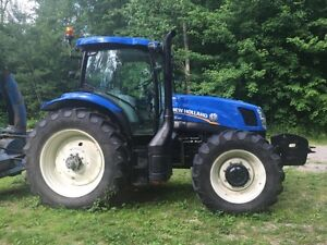 2012 New Holland T6.165 Tractor, 400 Hours, MINT CONDITION