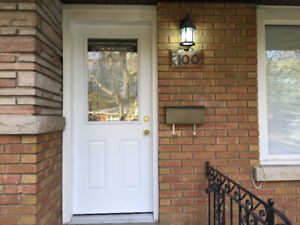 TWO BEDROMS FOR RENT ON MASTERSON AVE., AT THE FOOT OF BROCK U