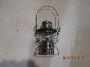 kerosene railway lantern