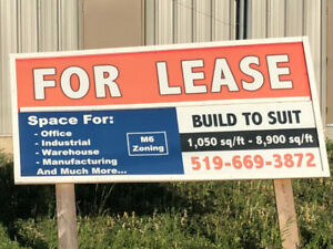 Space for Lease