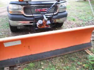 2002 GMC Sierra 2500 Pickup Truck with artic plow