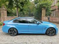 15 PLATE BMW M3 DCT SALOON 28,090 MILES YAS MARINA BLUE H&K PRO NAV LED'S