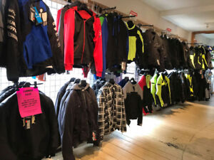 MOTORCYCLE JACKETS NOW 30% OFF AT HFX MOTORSPORTS!!