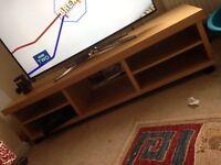 IKEA tv unit light wood colour