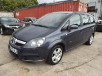 Vauxhall Zafira 1.6i 16v Club 5 DOOR FAMILY 7 SEATER MPV WITH ONLY 78000 MILES