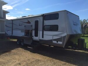 2011 Open Range Mesa Ridge Bunkhouse Travel Trailer 287B