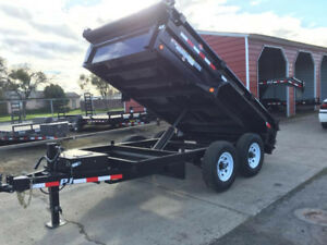 14 foot Dump Trailer For Rental Only