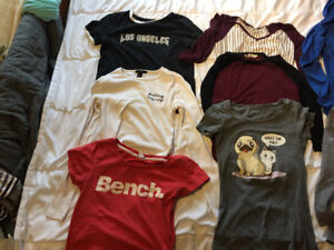Women's brand name Small / xsmall shirts lot. Take all for $10