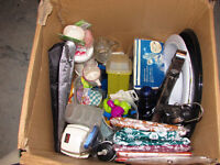 Assorted household items -Must take whole box for $10