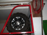 CAN AM SS rims on tires