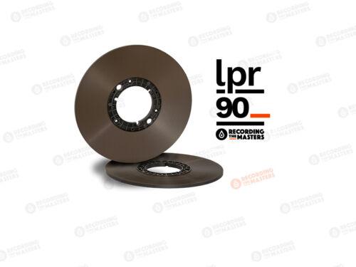 "RTM LPR90 BASF NAB Pancake LongPlay Reel Tape 1/4"" 3600"