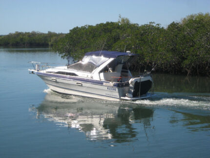 Bayliner Ciera 2655 Sunbridge on Alum Savage trailer REDUCED Euleilah Gladstone Area Preview