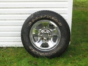 Wheels from 2012 Dodge Ram 1500