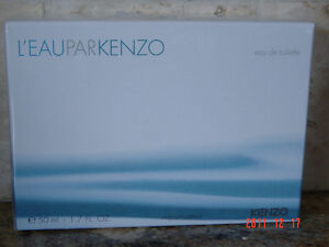NEW L'eau par KENZO Eau de Toilette Women Spray 50 ml BOXED