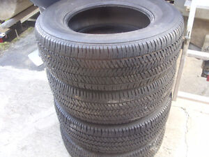 truck tires p265 65r17 m&s 4 tires