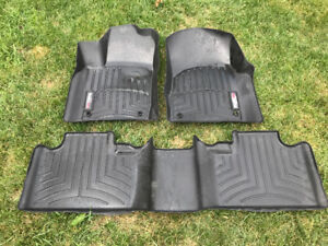Weathertec floor mat front and rear for Jeep Grand Cherokee