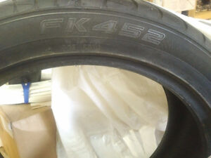 Falken 20 inch Audi q7 wheels tires 95% thread 245/45ZR20