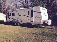 Puma 27 Foot Travel Trailer - New Condition