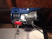 Electic 240v winch