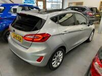 2018 Ford Fiesta TITANIUM 1.0T, 5 door, only 11222 miles, with nice optional ext