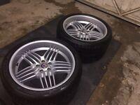 """Alpina dynamic staggered wheels 21"""" BMW X5"""