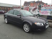 AUDI A4 1.9TDI 2007/57 SE 115 BLACK **ONLY 2 OWNERS **TIMING BELT DONE BY AUDI