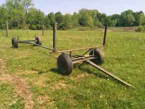 Pipe Carrier / Wagon / Trailer