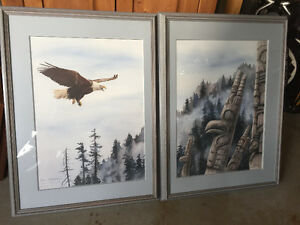 Sue Coleman Eagle's Eye Diptych