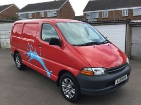 TOYOTA HIACE SWB 2001 *NEW MOT*LOW MILES* VERY CLEAN* MAY SWAP OR PX ?*