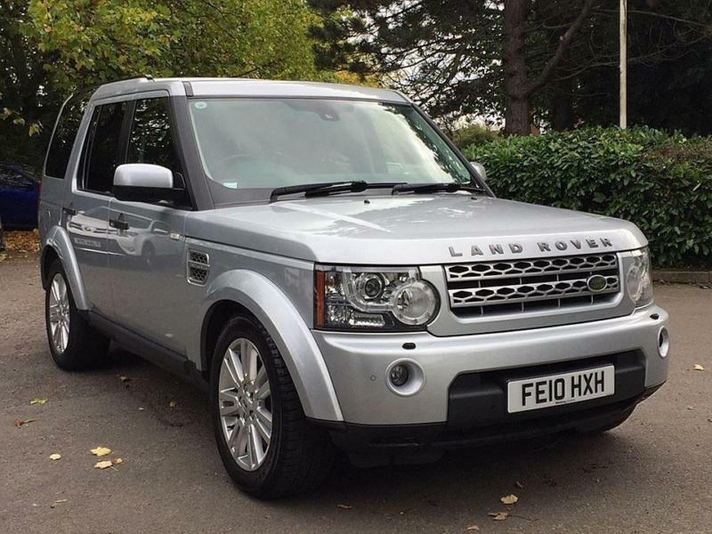 2010 10 LAND ROVER DISCOVERY 3.0 4 TDV6 HSE 5D AUTO 245 BHP DIESEL