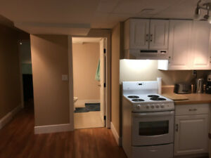 1 bedroom basement suit near uplands school